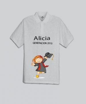 Camiseta Polo Niño Chica