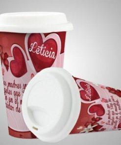 Vaso Ecológico para Cafè 10 Oz de Cerámica