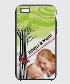 Carcasa Celular iPhone 6 Negra 13.5 x 6 cm