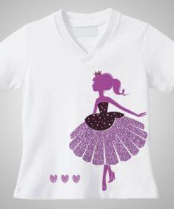 Camiseta de niño corte unico chica