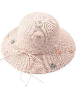 Sombrero de verano para sol de fiesta para mujer