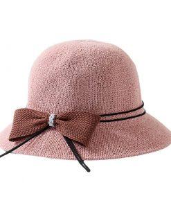 Sombrero redondos para el sol para mujer
