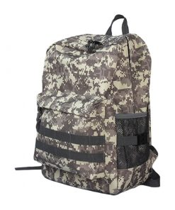 Backpack con estampado de camuflaje de excelente calidad para hombre