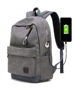 Backpack de viaje con puerto de carga USB