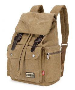 Backpack para hombres tela de lona