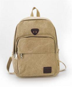 Backpack unisex casual vintage con gran capacidad y diseño anti robos
