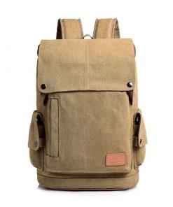 Backpack unisex diseño de forma cuadrada