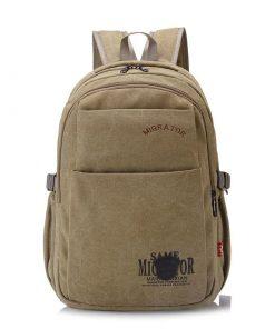 Backpack unisex estilo vintage