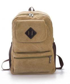 Backpack unisex vintage casual y mutifuncional con divisiones
