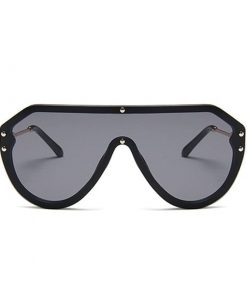 Lentes de sol de estilo vintage hombres moda estilo goggle aire libre