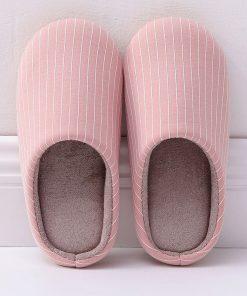 Pantuflas de algodón clasica para mujer