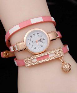 Reloj con diseño creativo para mujer