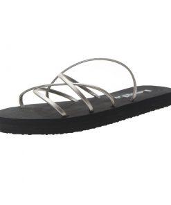 Sandalias planas con diseño de tiras discretas