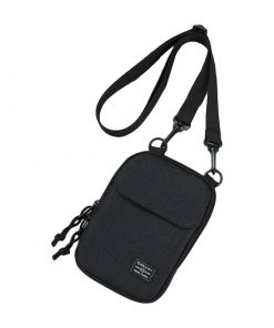Backpack mini de color  negro sólido de un tirante