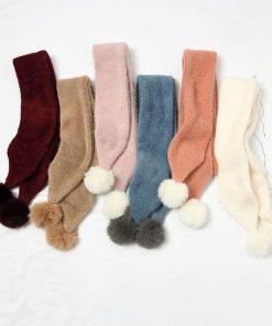 Bufanda de invierno de moda para mujer