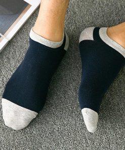 Calcetines básicos casuales de algodón de uso diario