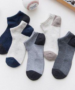 Calcetines casuales con diseño de parches set de 10 pares