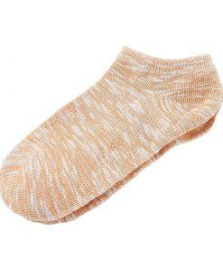 Calcetines deportivos de algodón fino de estilo casual