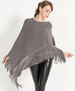Capa elegante de invierno para mujer