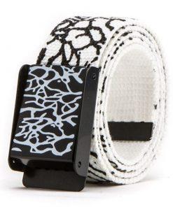 Cinturón casual con diseño de patrón de noodles