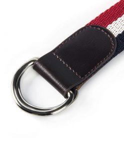 Cinturón con diseño a rayas en colores brillantes